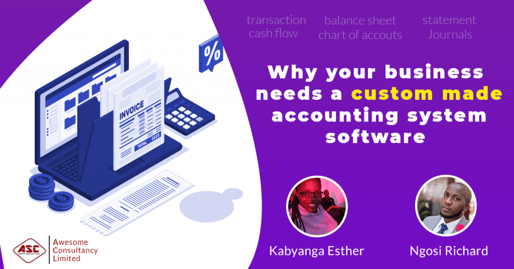 why you business needs a custom made accounting software